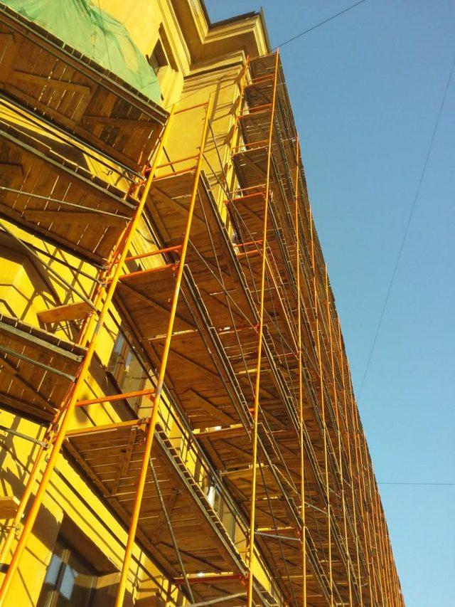 риштування для фасадних робіт