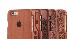 деревянный чехол для iPhone