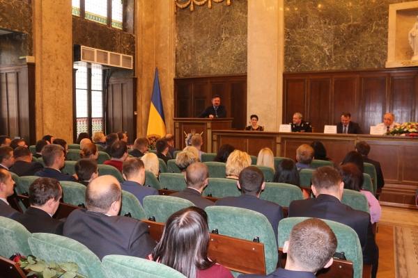 Андрій Білоус відзначив працівників прокуратури нагородами Львівської обласної ради