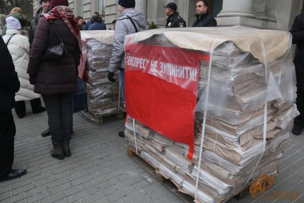 Керівники області поспілкувалися з журналістами газети «Експрес»
